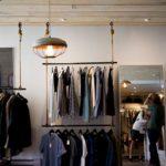 Regal sklepowy odzieżowy NUT 04